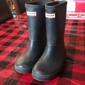 Toddler size 10 hunter boots